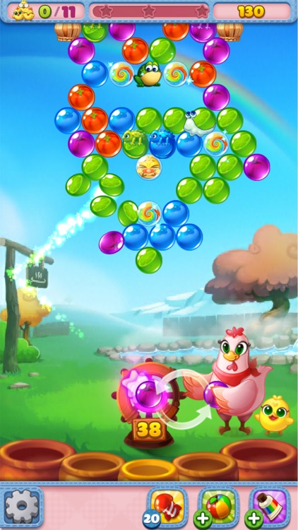 Bubble CoCo: Color Match Pop screenshot-3