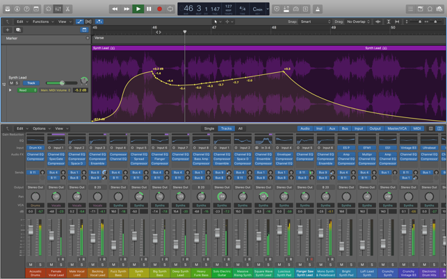 ‎Logic Pro X Screenshot