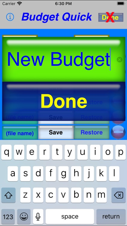 Budget Quick screenshot-3