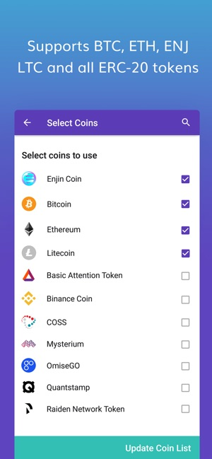 Enjin Crypto Wallet - ETH BTC on the App Store