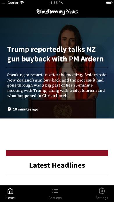 The Mercury News for Mobile Screenshot