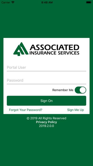 Associated Insurance screenshot one