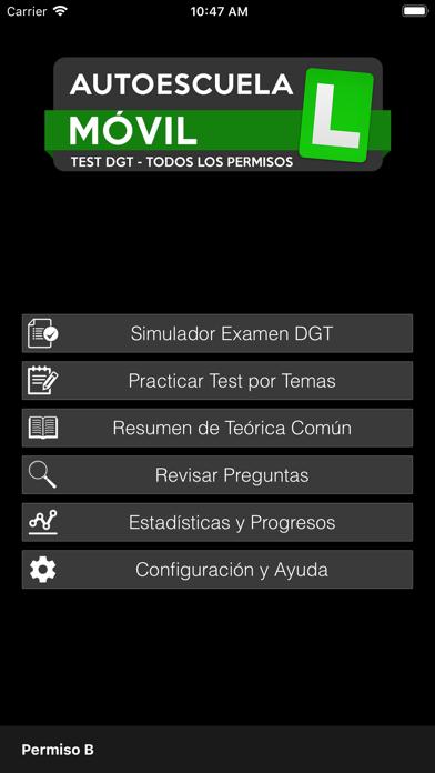 Autoescuela Móvil. Test DGT