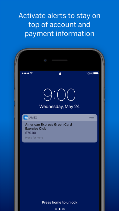 Screenshot for Amex in United States App Store