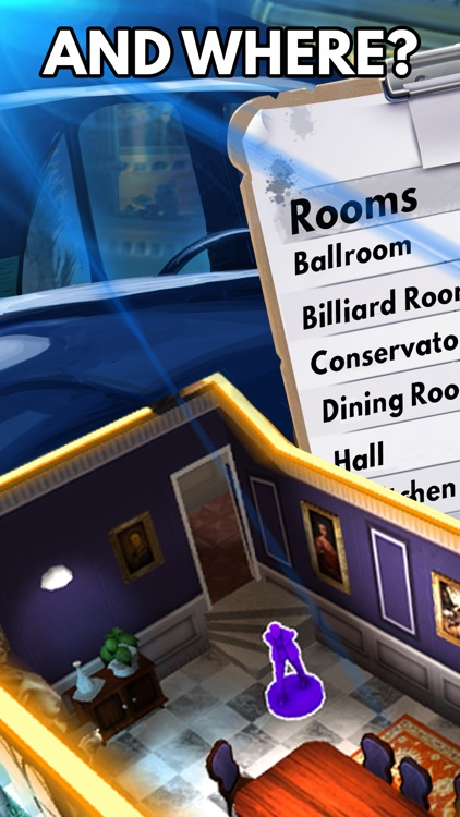 Clue: The Classic Mystery Game screenshot-4
