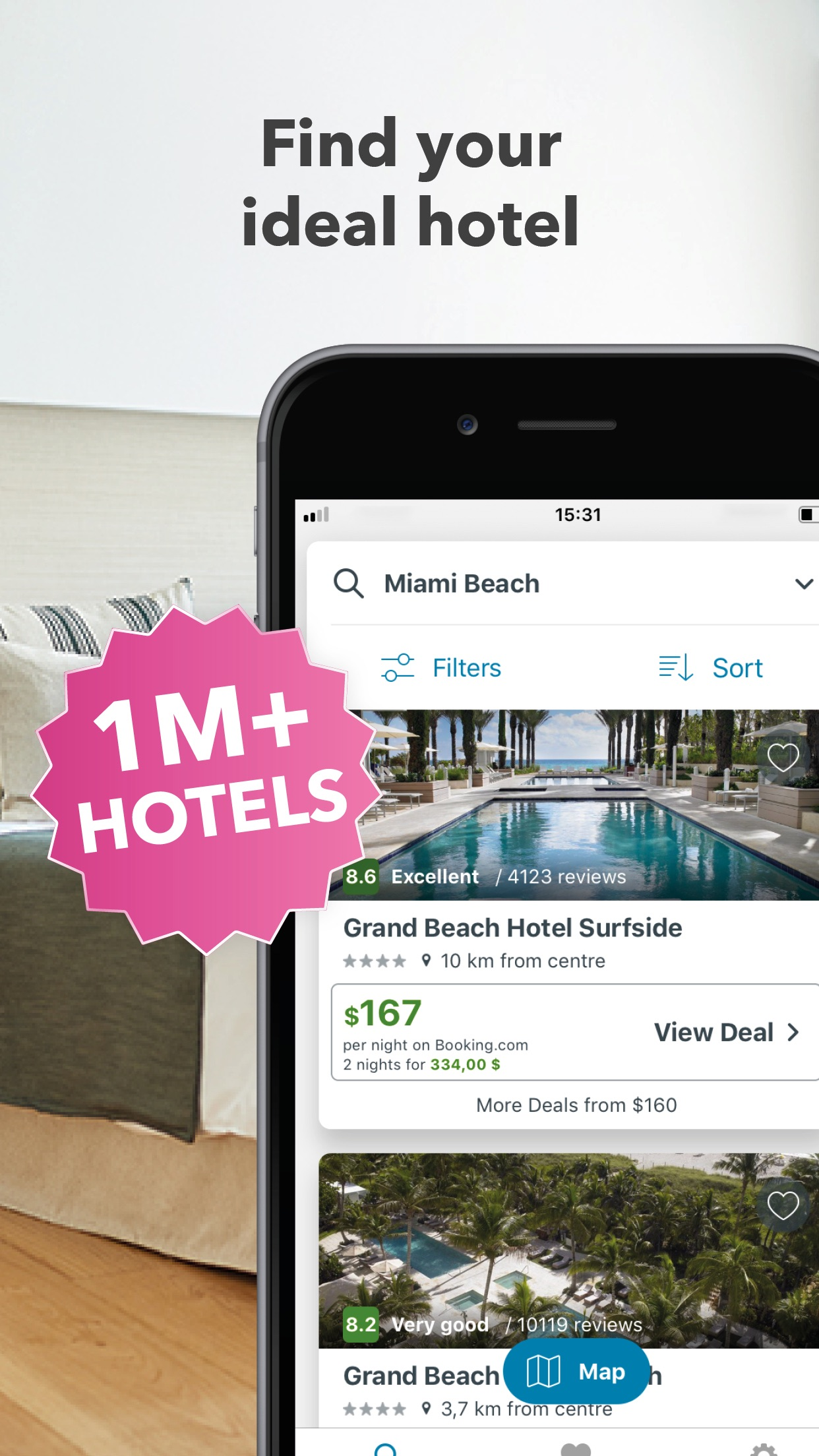 trivago: Compare hotel prices Screenshot