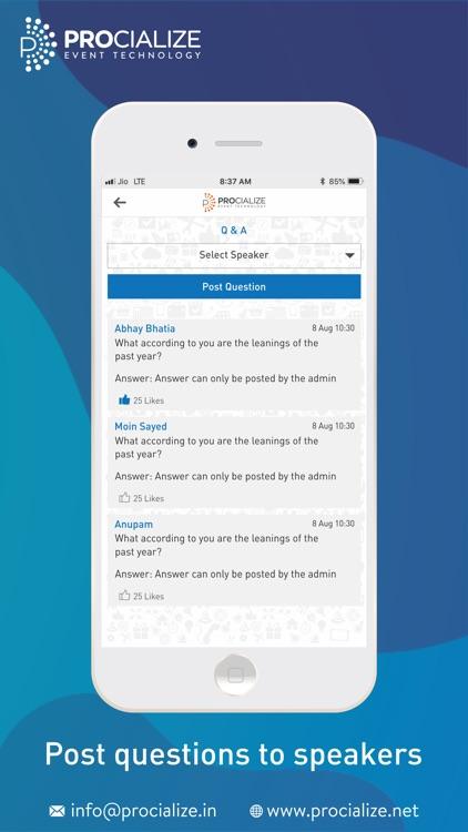 The Event App by Procialize screenshot-4
