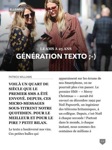 ELLE Magazine - náhled