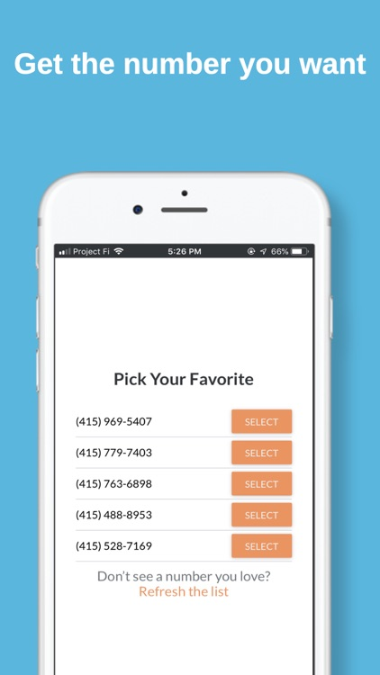 String: A Smart Phone Number