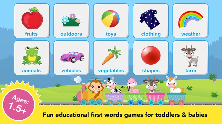Toddler games for preschool 2+