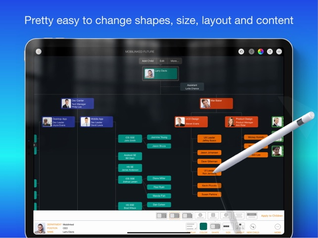 ‎OrgChart - Organization Chart Screenshot