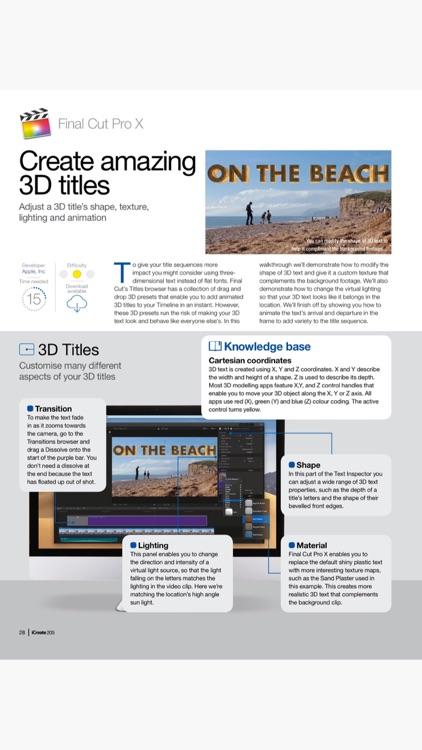 iCreate - Magazine screenshot-4
