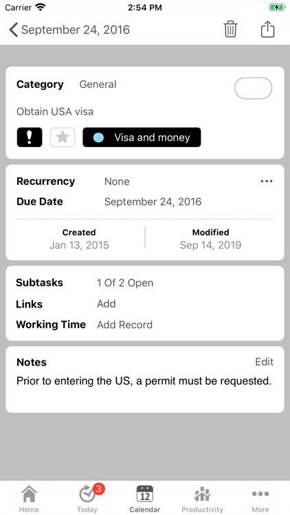 Tempodo To-Do List screenshot-6