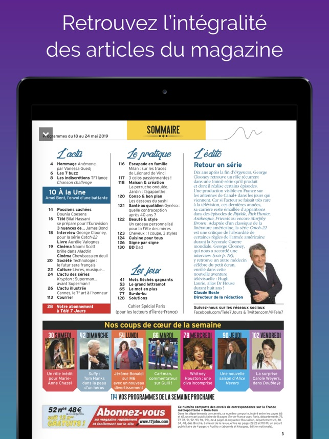 Tele 7 Jours Magazine On The App Store