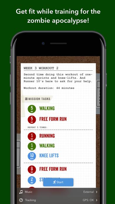 Zombies, Run! 5k Trainingのおすすめ画像1