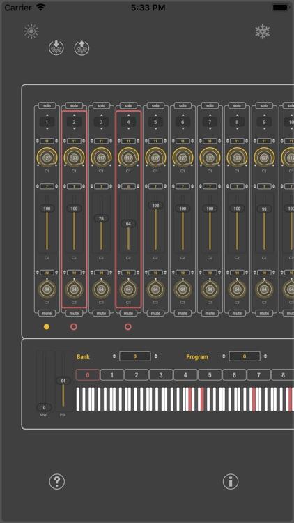 MIDI SWEET: Module Unit (AU)