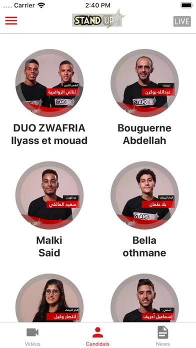 StandUp Alaoula TV screenshot two