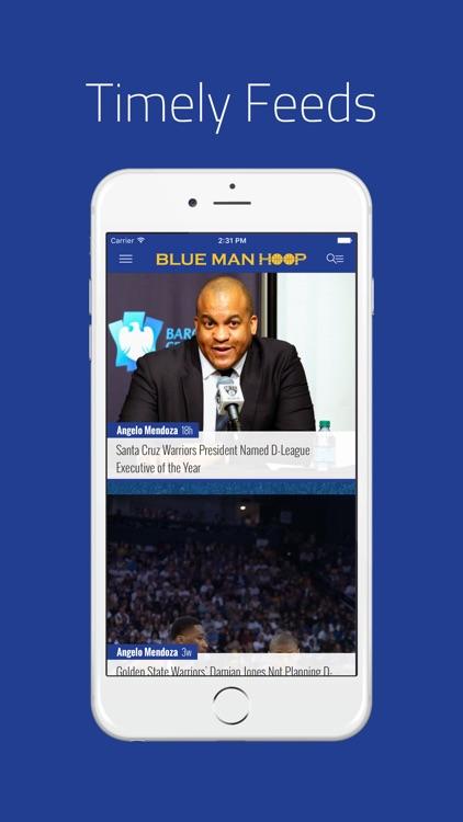 Blue Man Hoop