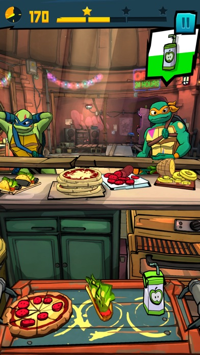 Rise of the TMNT: Power Up! screenshot 3