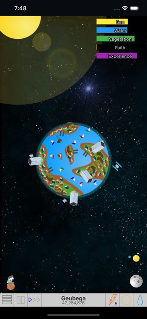 My Planet Simulation on the App Store