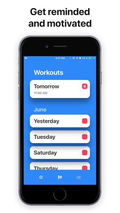 Workout Planner: Hit The Gym Screenshots