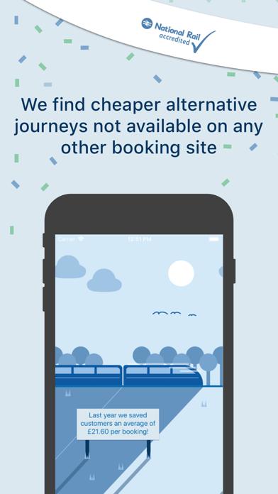 TrainSplit - Split Ticketing screenshot one
