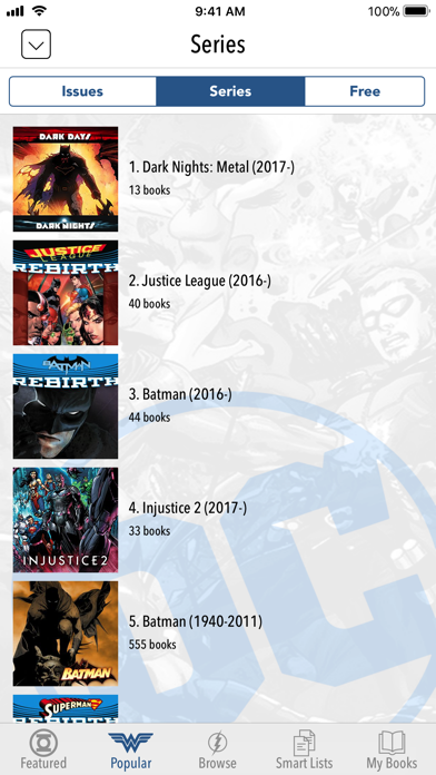 DC Comics Screenshot