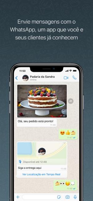 WhatsApp Business Screenshot