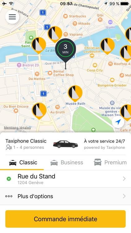 Taxiphone Genève