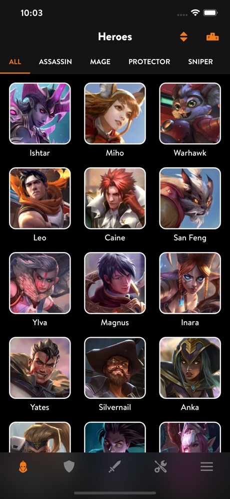 GloryGuide for Vainglory