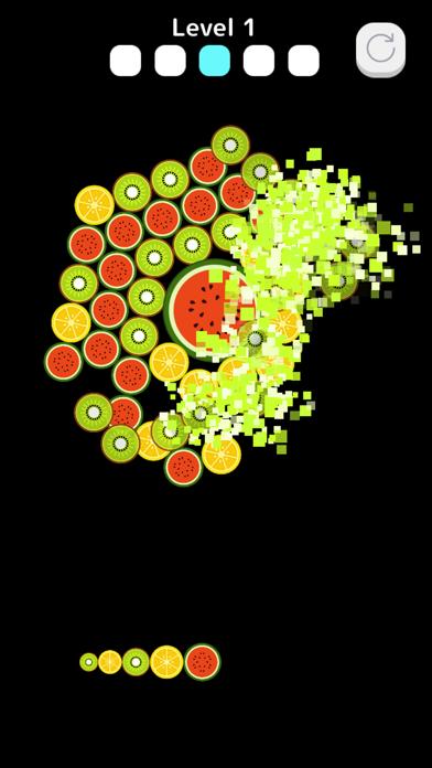 FruitsBubble screenshot 2