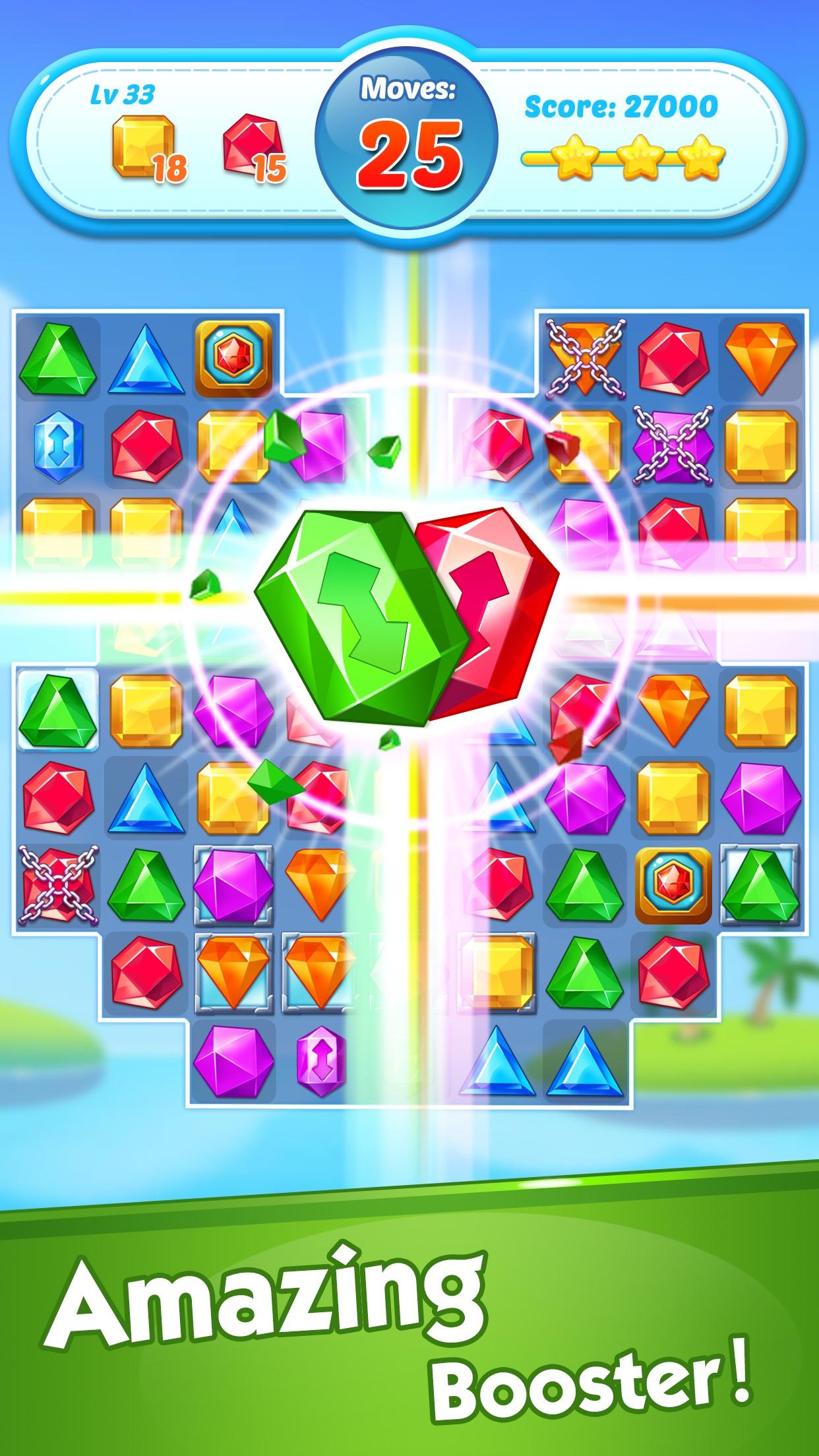Jewel Crush®- Match 3 Games Screenshot
