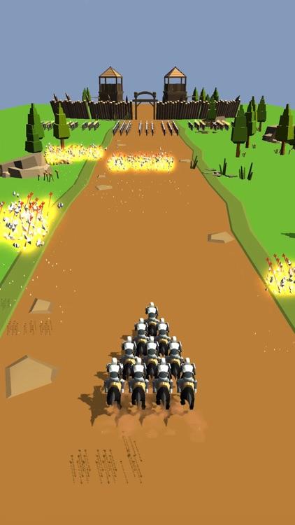 Horseman Rush 3D screenshot-5