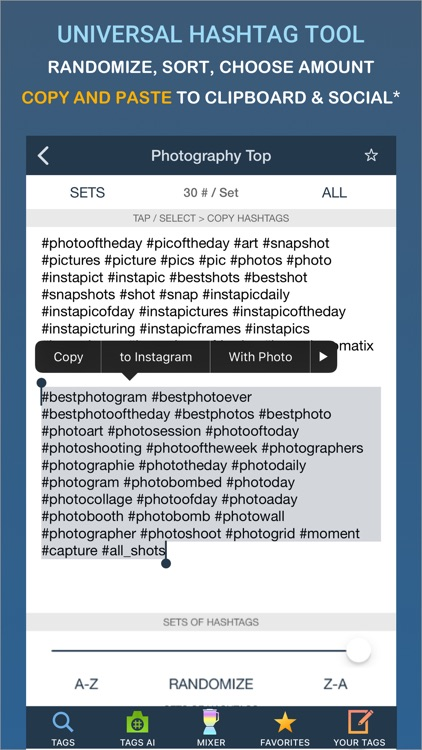 Tags - Hashtags for Instagram screenshot-0