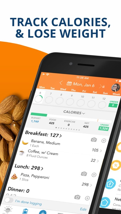 Screenshot for Lose It! – Calorie Counter in India App Store
