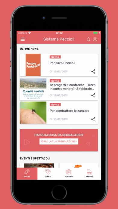 Screenshot of Sistema Peccioli6