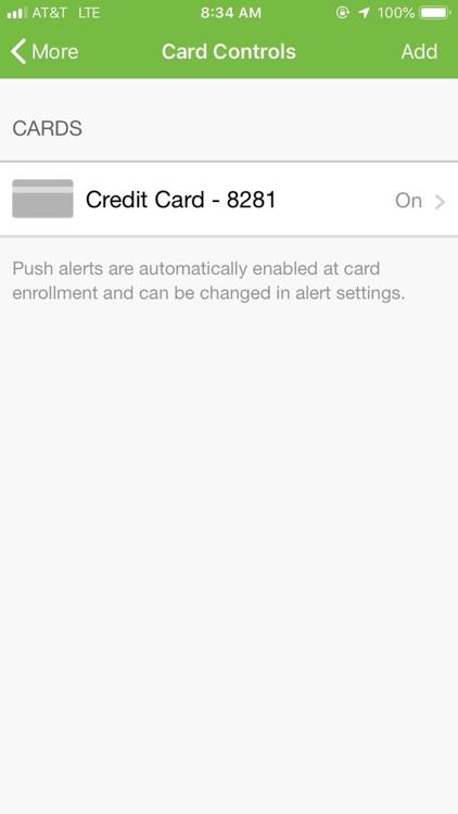Traditions Credit Card screenshot-4