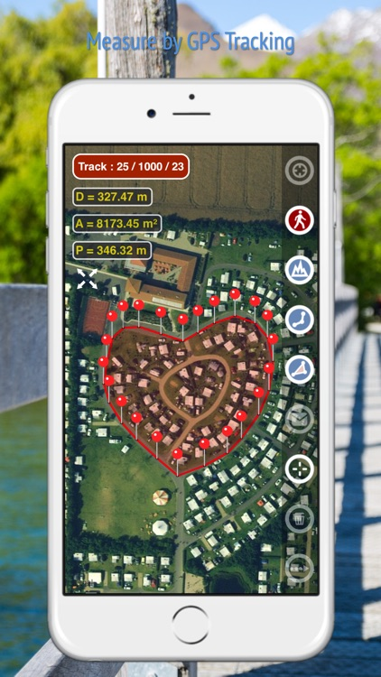 Planimeter GPS Area Measure screenshot-3