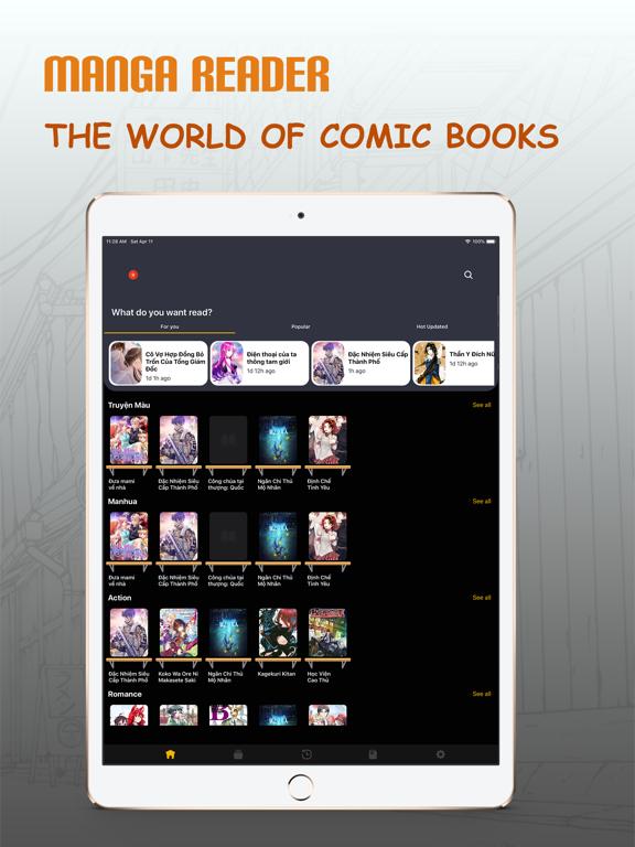 Ipad Screen Shot Manga Reader - My Manga Viewer 0