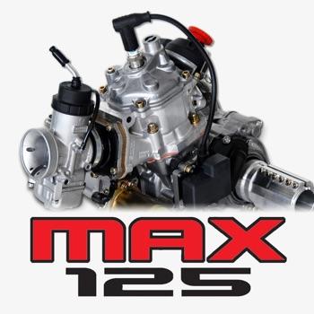 Jetting Rotax Max Kart Logo