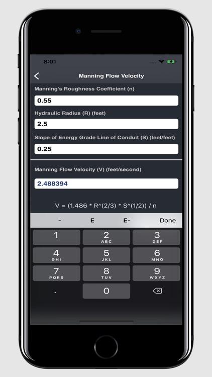 Waterworks Calculations screenshot-6