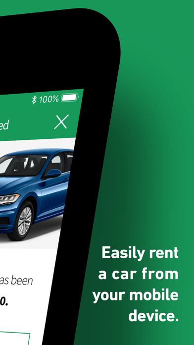 Enterprise Rent-A-Car screenshot