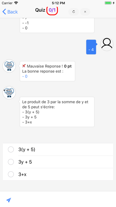Maths 3ème screenshot 5