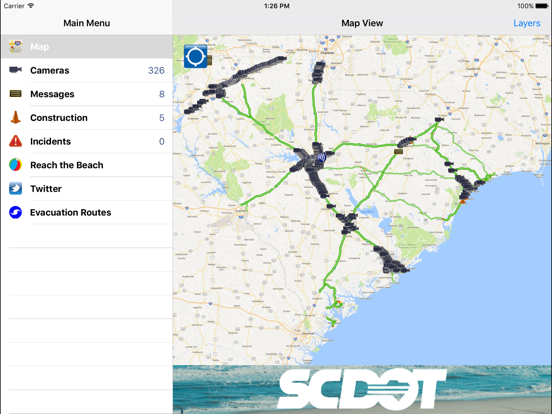 511 South Carolina Traffic | App Price Drops on live traffic map, atlanta traffic map, chicago traffic map, sf traffic map,