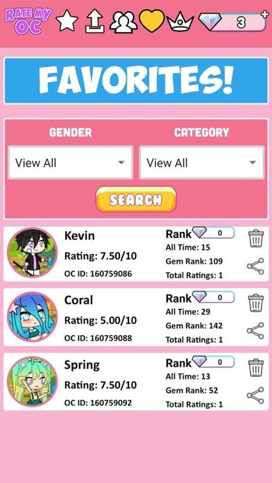 Rate My OC screenshot 6