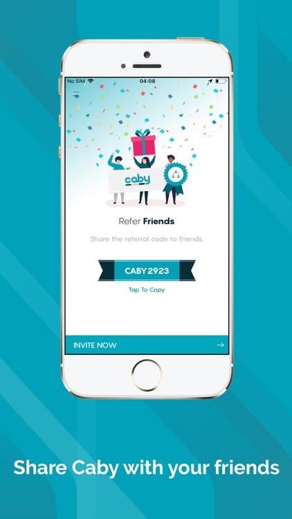 Caby - ride sharing screenshot-3