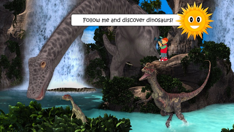 Dinosaurs & Ice Age Animals screenshot-0
