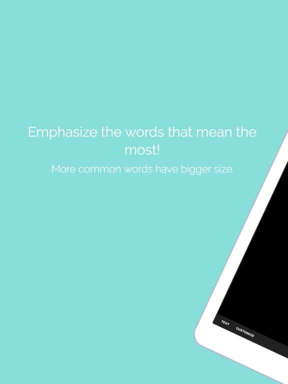 Word Collage Screenshot 1