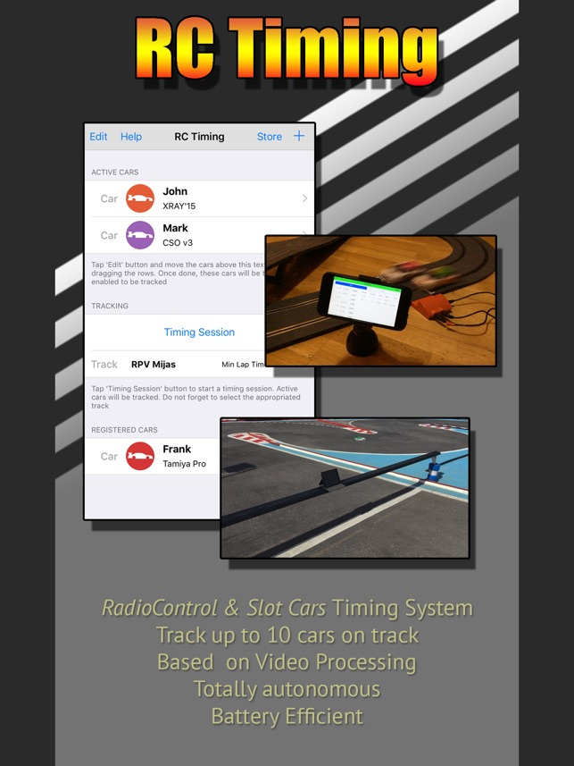 Rc Timing On The App Store