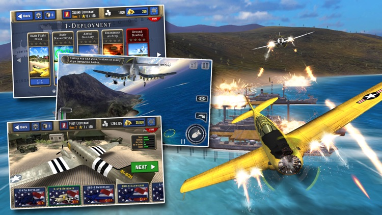Air Combat Pilot: WW2 Pacific screenshot-0